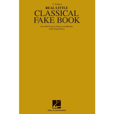 Music Real Little Classical Fakebook (2nd Ed)