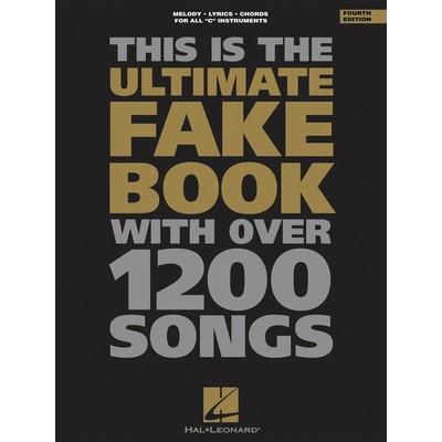 Music Ultimate Fake Book C 4th Ed - C Edition - Hal Leonard - 00240024