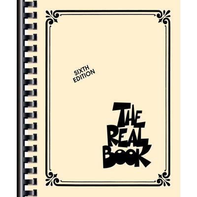 Music Real Book Vol.1 6th Ed - C Book (Fake Book) - Hal Leonard - 00240221
