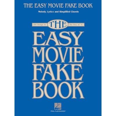Music Easy Movie Fake Book
