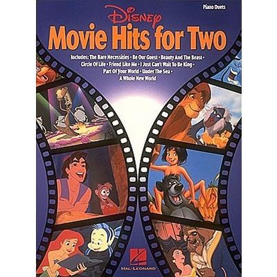 Music Disney Movie Hits For 2 - Hal Leonard - 00292076