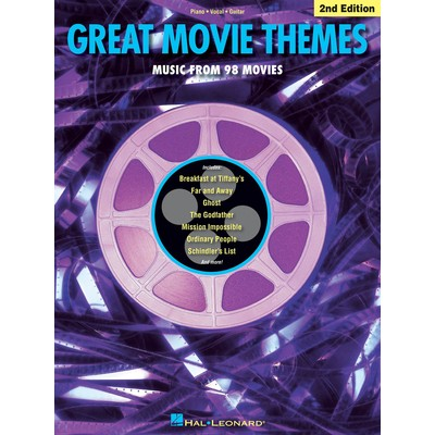 Music Great Movie Themes 2nd Edition (PVG)