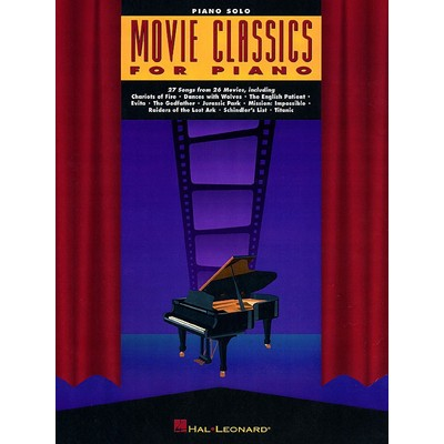 Music Movie Classics for Piano (PS) - Hal Leonard - 00310411
