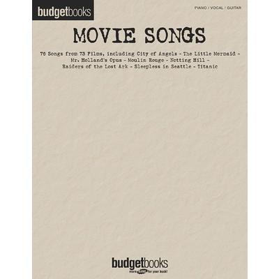 Music Budget Books - Movie Songs (PVG) - Hal Leonard - 00310831