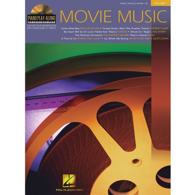 Music Piano Play Along 1 - Movie Music w/CD - Hal Leonard - 00311072