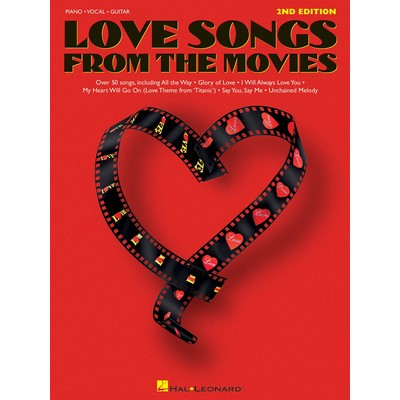 Music Love Songs From The Movies 2nd Ed. (PVG) - Hal Leonard - 00311671
