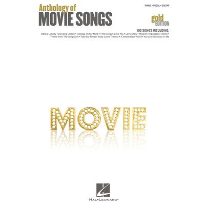 Music Anthology of Movie Songs - Gold Edition (PVG)