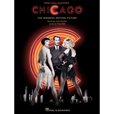Music Chicago - Movie Vocal Selections (PVG) - Hal Leonard - 00313241