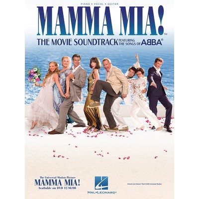 Music Mamma Mia (from the Movie Soundtrack) (PVG)