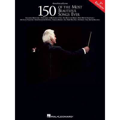 Music 150 of the Most Beautiful Songs Ever (PVG) - Hal Leonard - 00360735