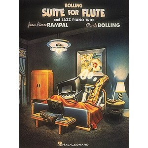 Music Bolling Suite for Flute & Jazz Piano Trio (w/opt bass)