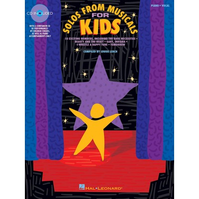 Music Solos from Musicals for Kids w/CD - Hal Leonard - 00740079