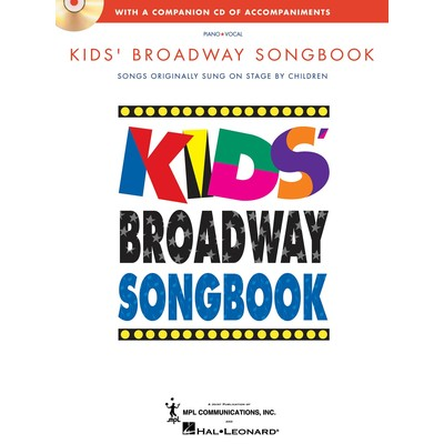 Music Kids Broadway Songbook w/CD