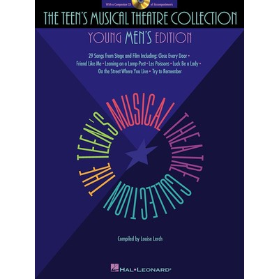 Music Teens Musical Theatre Collection Young Mens Ed w/CD