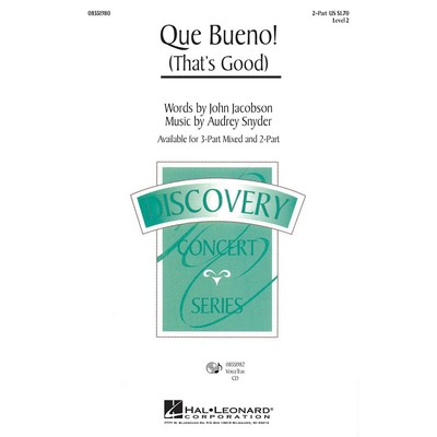 Music Que Bueno (That's Good) - 2 Part