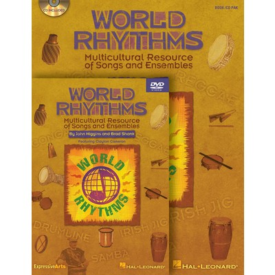 Music World Rhythms - Classroom Kit (book/CD/DVD)