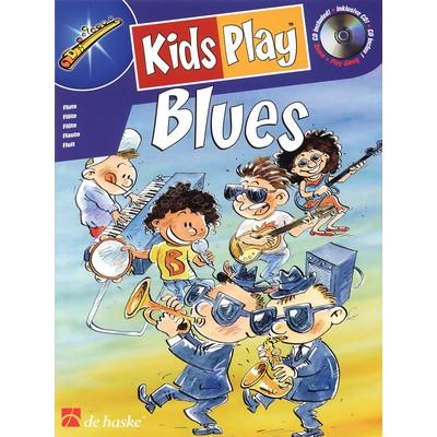 Music Kids Play Blues w/CD - Flute