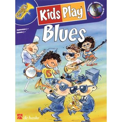 Music Kids Play Blues w/CD - Euphonium