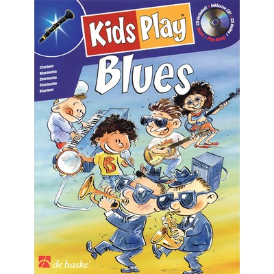 Music Kids Play Blues w/CD - Clarinet