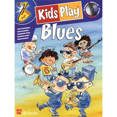 Music Kids Play Blues w/CD - Tenor Sax