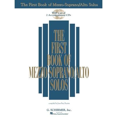 Music 1st Book of Mezzo Soprano Solos w/2CDs (ed Boytim,SCH)