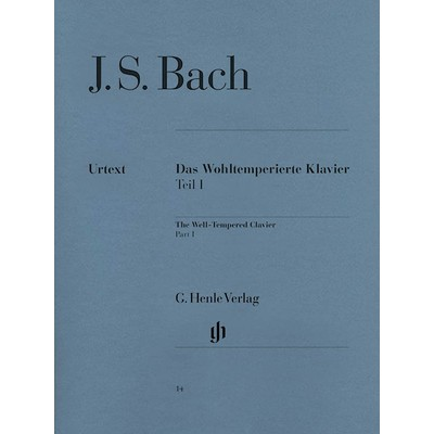 Music Bach Well Tempered Clavier Part 1 (HEN)(PA)