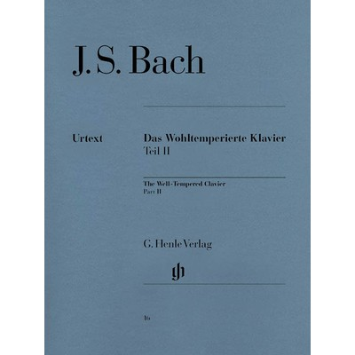 Music Bach Well Tempered Clavier 2 BWV870-893 (HEN)(PA)