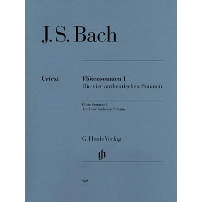 Music Bach Flute Sonatas Vol.1 (BWV 1034, 1035, 1030, 1032)