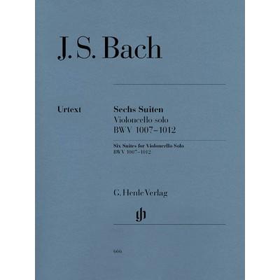 Music Cello Bach 6 Suites BWV 1007-1012 (HEN)