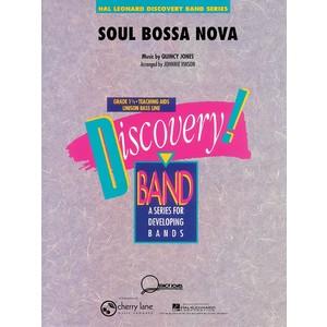 Score Soul Bossa Nova - Jones, Quincy arr Vinson (CB Gr.1.5) - Hal Leonard - 02501118
