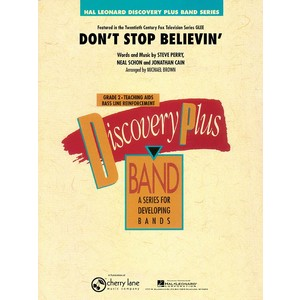 Score Dont Stop Believin (from Glee) - arr Brown (CB Gr.2) - Hal Leonard - 02501471