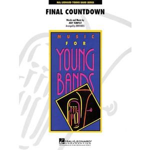 Score Final Countdown - Tempest arr Moss (CB Gr.3) - Hal Leonard - 04001115