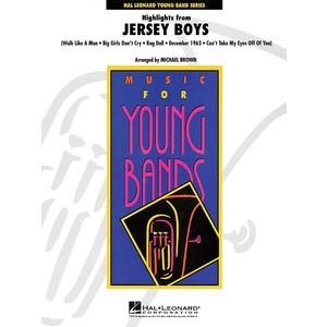 Score Highlights from Jersey Boys - arr Brown (CB Gr.3) - Hal Leonard - 04001123