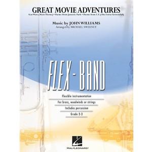 Score Great Movie Adventures - Sweeney (Flex Band, CB Gr2-3) - Hal Leonard - 04002502