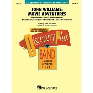 Score John Williams Movie Adventures (CB Gr.2.5) - Hal Leonard - 08724678