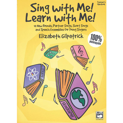 Music Sing with Me Learn with Me Teacher Handbook - Alfred Music - 00-20092