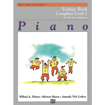 Alfred's Basic Piano Course: Technic Book Complete 1 (1A/1B) - Alfred Music - 00-2459