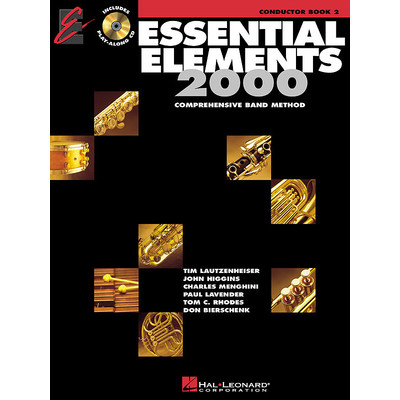 Essential Elements for Band - Book 2 with EEi - Conductor - Hal Leonard - 00862587
