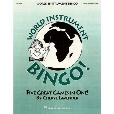 World Instrument Bingo Game