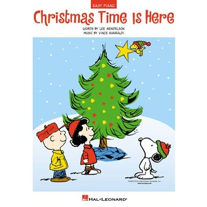 SheetMusic Xmas Time is Here (EP) (RCM Pop 1) - Hal Leonard - 00110118
