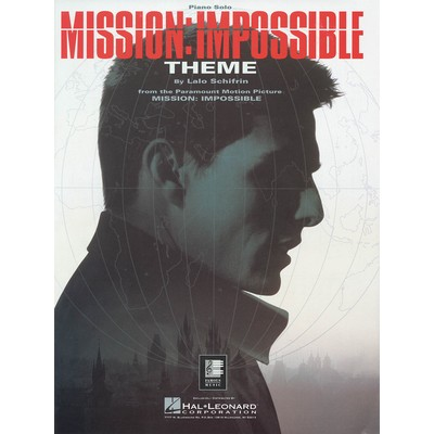 SheetMusic Mission Impossible Theme (PA) - Hal Leonard - 00292041