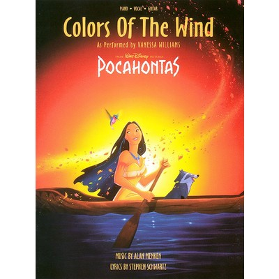 SheetMusic Colors Of The Wind - Vanessa Williams - Hal Leonard - 00351428