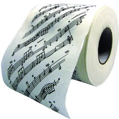 Toilet Paper Aim Sheet Music - Aim - 11404