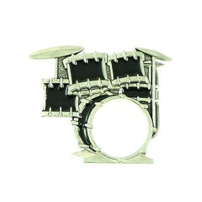 Drum Set Belt Buckle - Aim - 13209