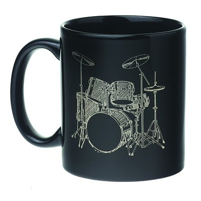 Mug Set - 5 Piece, Black/White - Aim - 1811