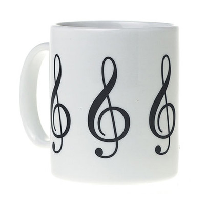 G-Clef Mug - White - Aim - 1916