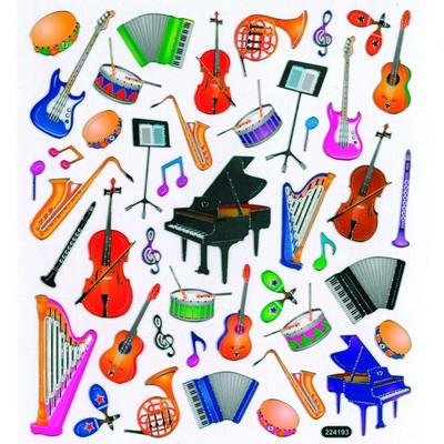 Stickers Aim Musical Instruments - Aim - 29521
