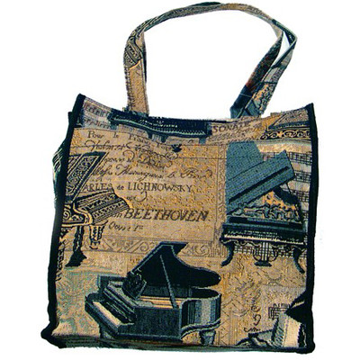 "Piano Tapestry 12"" Tote - Aim - 49555"