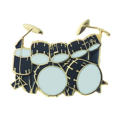 Pin Aim Dbl Bass Drum Blk - Aim - 54A