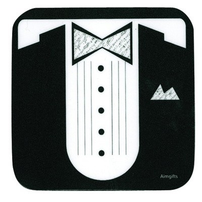 Coaster Aim Vinyl Sheet Music Tux - Aim - 82434